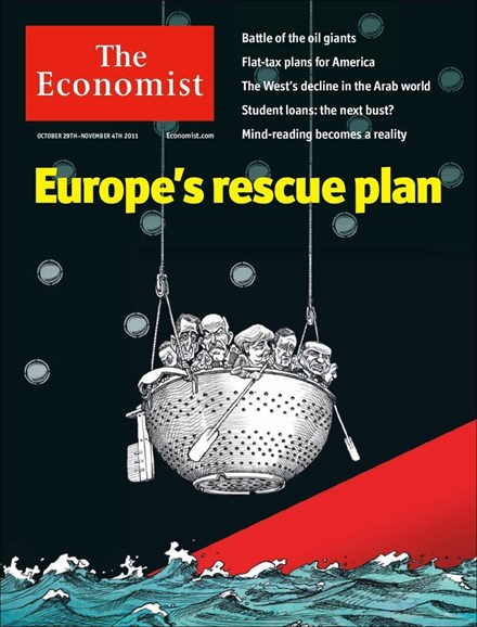 The Economist Cover - 10/29/2011