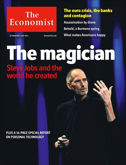 The Economist Cover - 10/8/2011