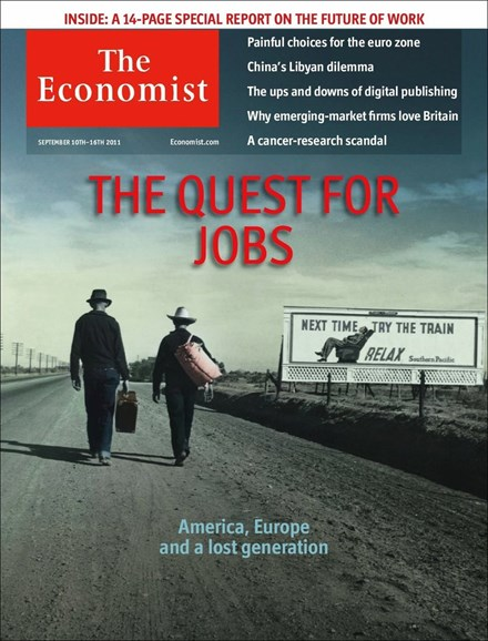 The Economist Cover - 9/10/2011
