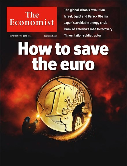 The Economist Cover - 9/17/2011