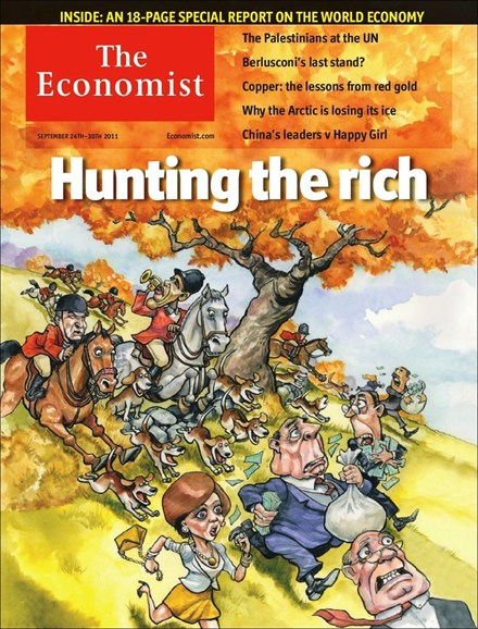 The Economist Cover - 9/24/2011
