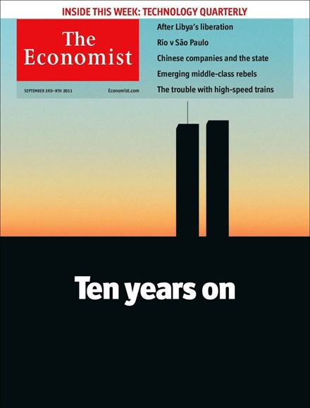 The Economist Cover - 9/3/2011