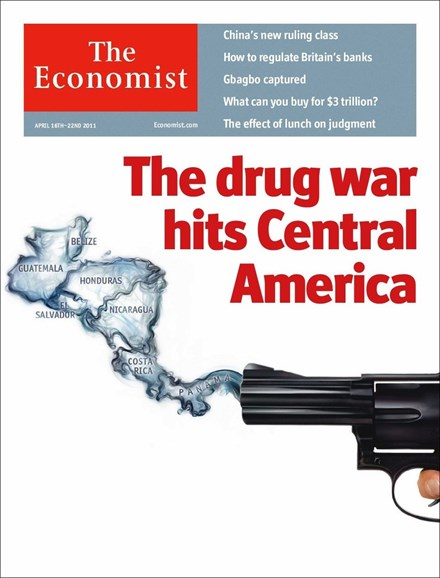 The Economist Cover - 4/16/2011