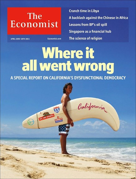 The Economist Cover - 4/23/2011