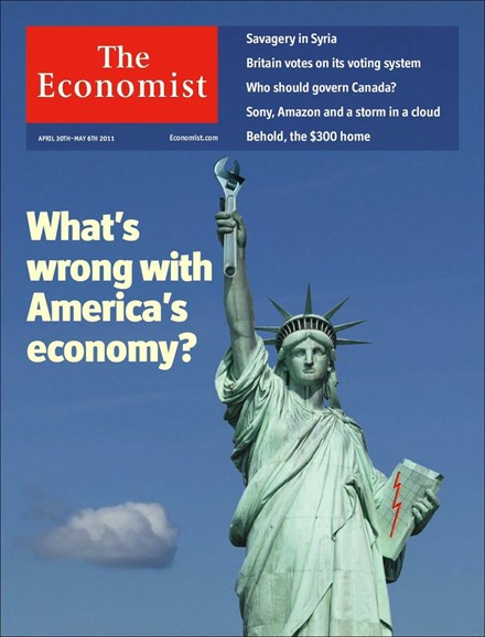 The Economist Cover - 4/30/2011