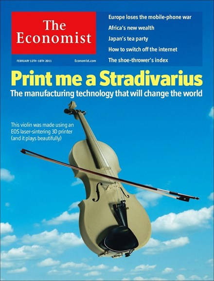 The Economist Cover - 2/12/2011