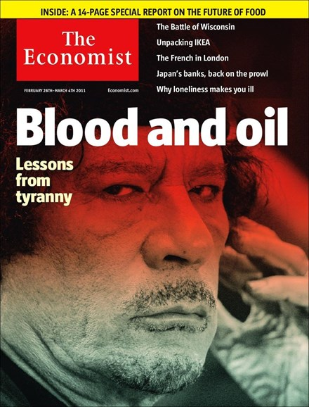 The Economist Cover - 2/26/2011