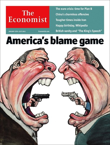 The Economist Cover - 1/15/2011
