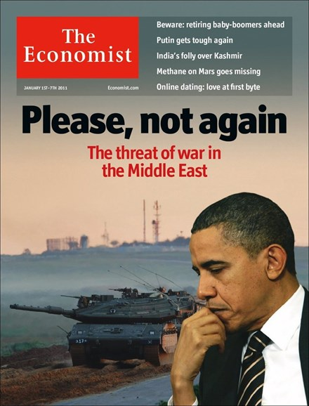 The Economist Cover - 1/1/2011