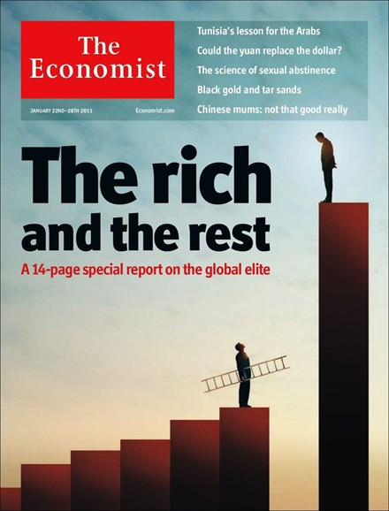 The Economist Cover - 1/22/2011
