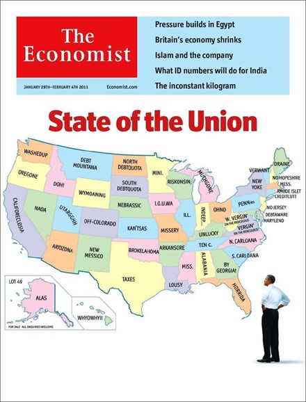 The Economist Cover - 1/29/2011