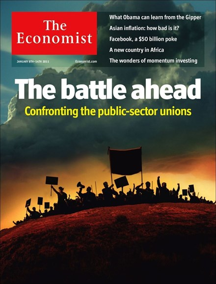 The Economist Cover - 1/8/2011
