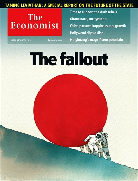 The Economist Cover - 3/19/2011