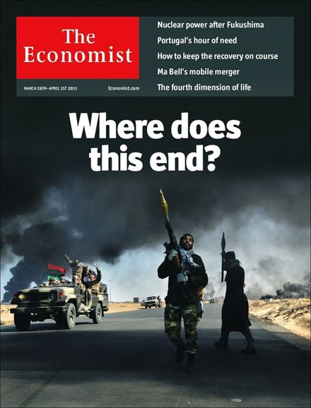 The Economist Cover - 3/26/2011