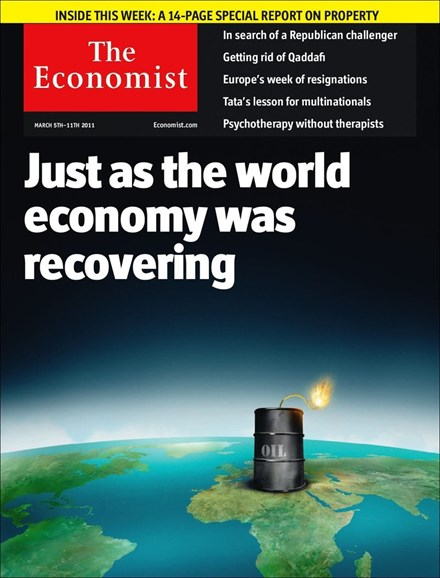 The Economist Cover - 3/5/2011
