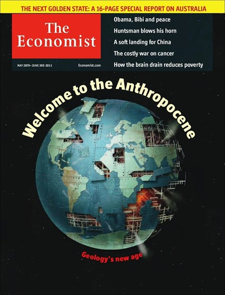 The Economist Cover - 5/28/2011