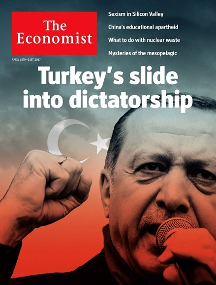 The Economist Cover - 4/15/2017