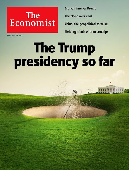 The Economist Cover - 4/1/2017