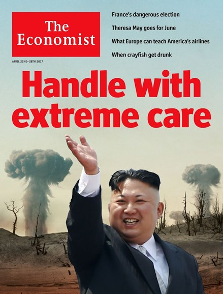 The Economist Cover - 4/22/2017
