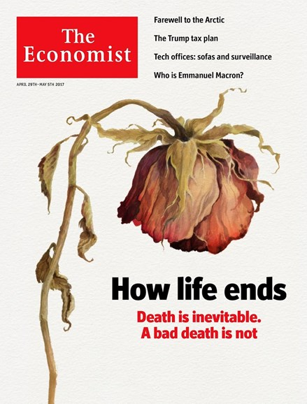 The Economist Cover - 4/29/2017