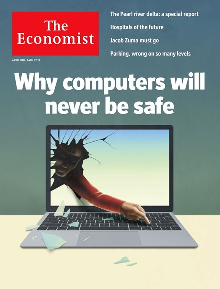 The Economist Cover - 4/8/2017