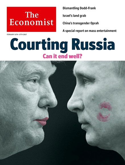 The Economist Cover - 2/11/2017