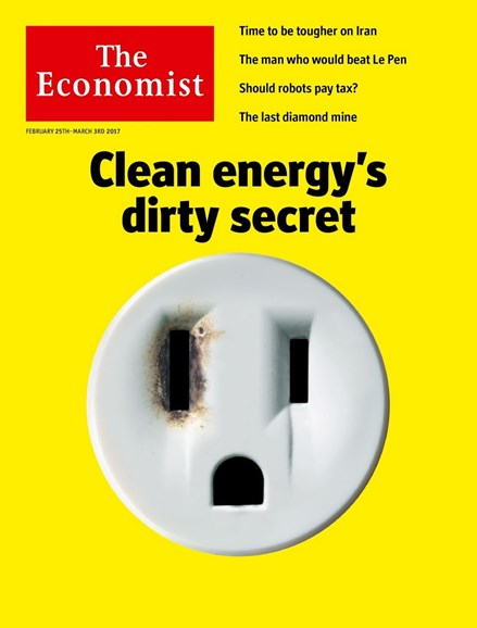 The Economist Cover - 2/25/2017