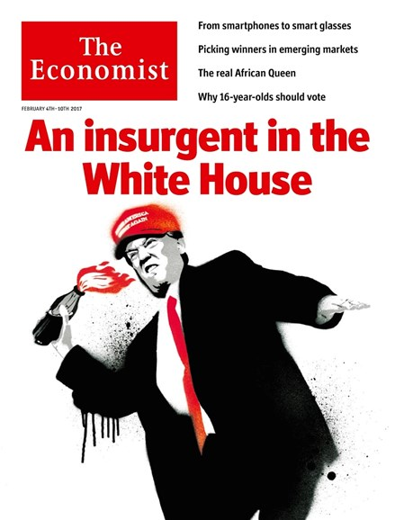 The Economist Cover - 2/4/2017