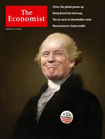 The Economist Cover - 1/21/2017