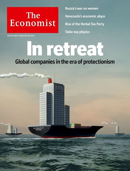 The Economist Cover - 1/28/2017