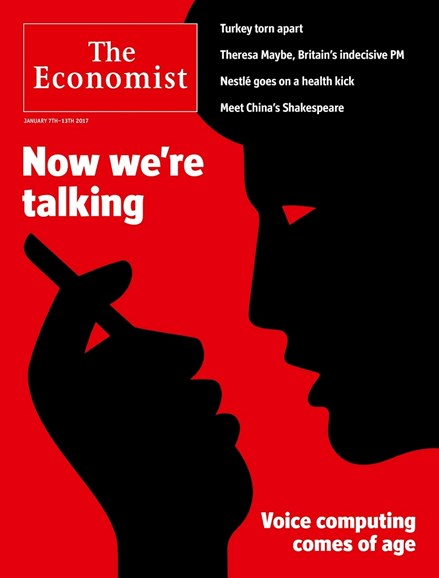 The Economist Cover - 1/7/2017