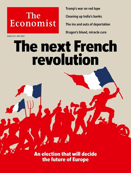 The Economist Cover - 3/4/2017
