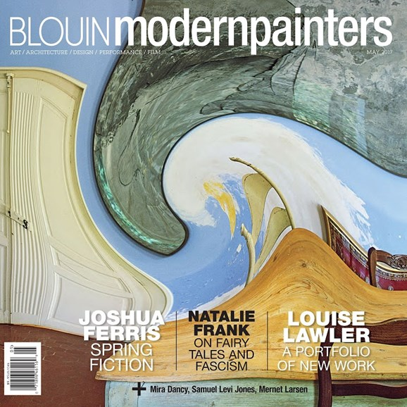 Blouin Modern Painters Cover - 5/1/2017