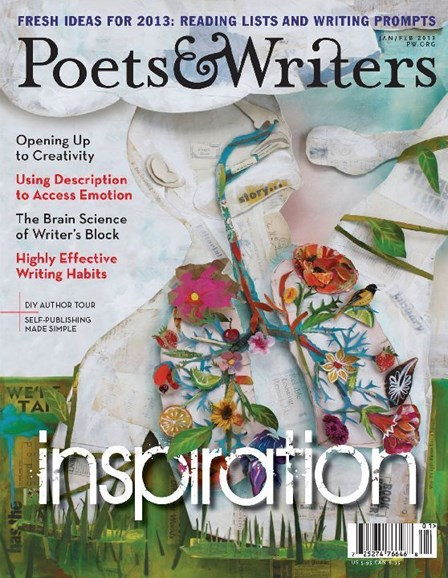 Poets & Writers Cover - 1/1/2013