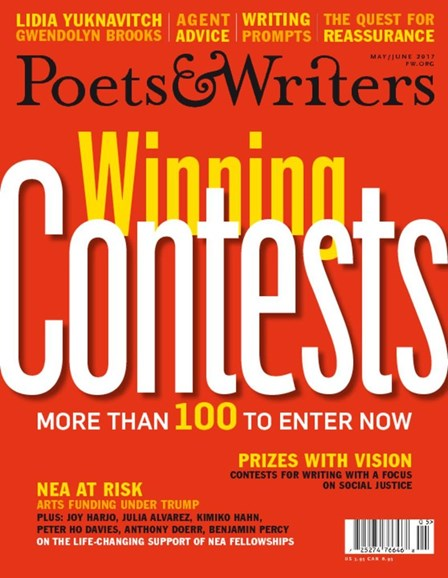 Poets & Writers Cover - 5/1/2017