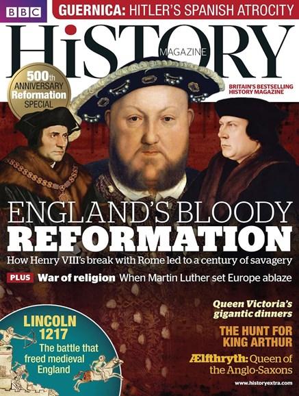 BBC History Cover - 5/1/2017