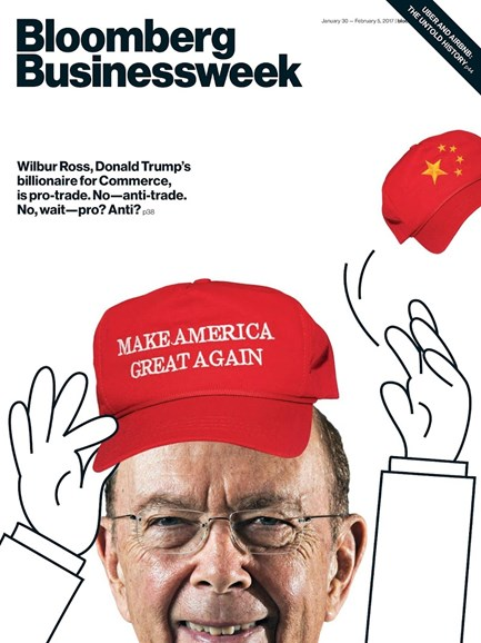 Bloomberg Businessweek Cover - 1/30/2017