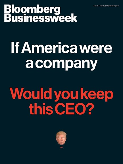 Bloomberg Businessweek Cover - 5/22/2017