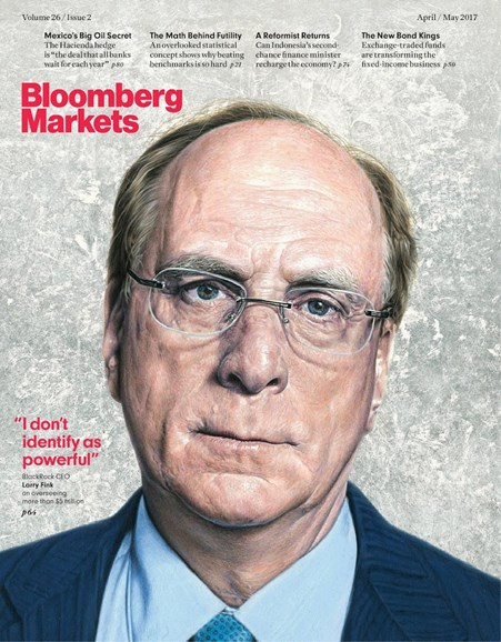 Bloomberg Markets Cover - 4/1/2017