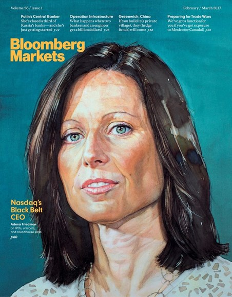 Bloomberg Markets Cover - 2/1/2017