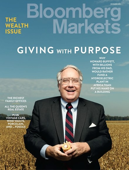 Bloomberg Markets Cover - 12/1/2015