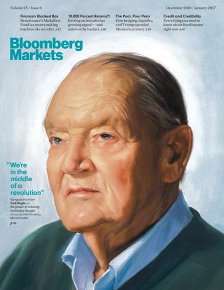 Bloomberg Markets Cover - 12/1/2016