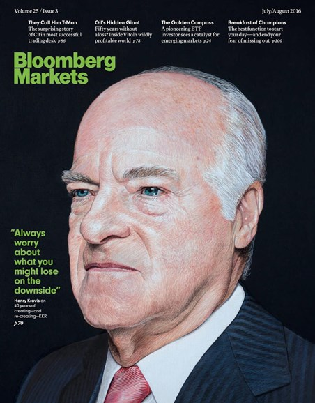 Bloomberg Markets Cover - 7/1/2016