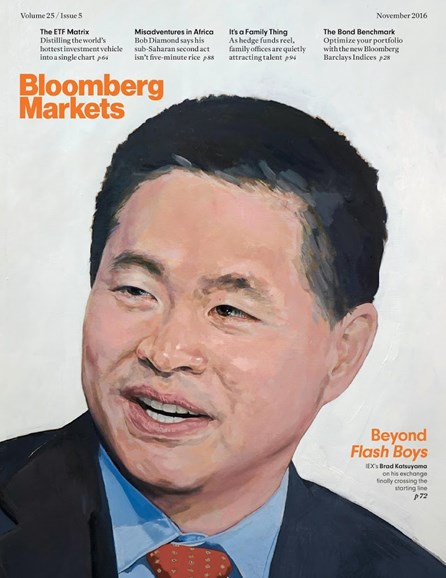 Bloomberg Markets Cover - 11/1/2016
