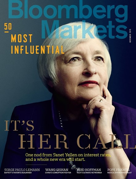 Bloomberg Markets Cover - 11/1/2015