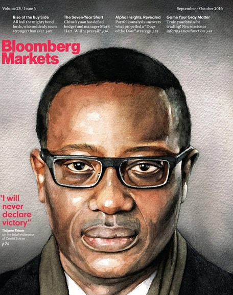 Bloomberg Markets Cover - 9/1/2016