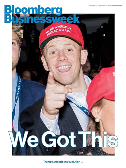 Bloomberg Businessweek Cover - 11/14/2016