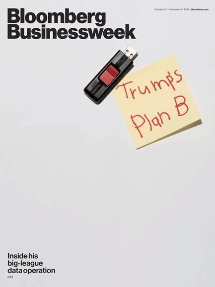 Bloomberg Businessweek Cover - 10/31/2016