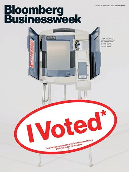 Bloomberg Businessweek Cover - 10/3/2016