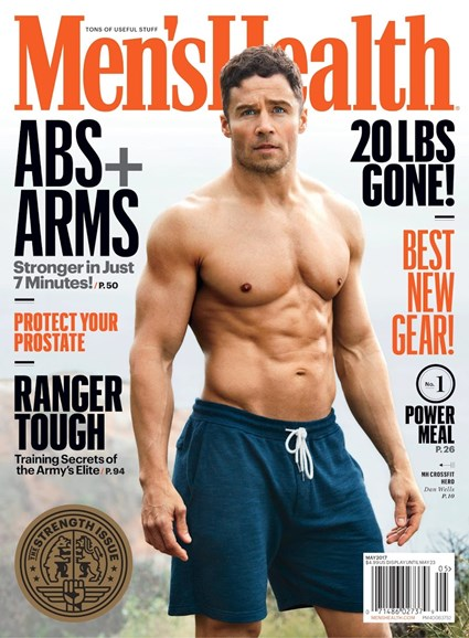 Men's Health Cover - 5/1/2017